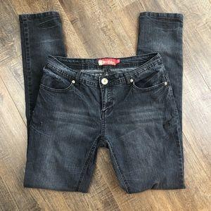 Apple Bottoms Jeans | Dark Wash Denim Pants (9/10)